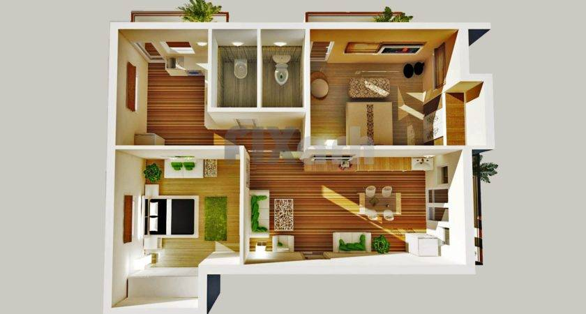 Bedroom House Plans Designs Small