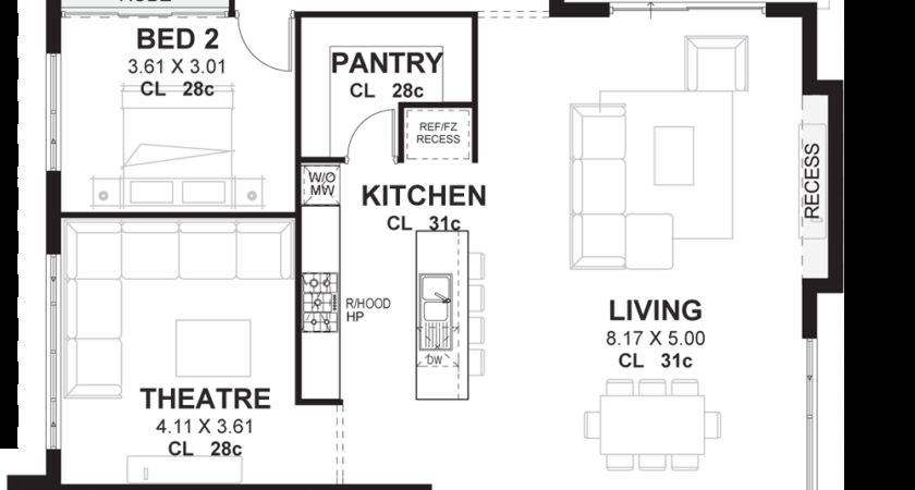 Bedroom House Plans Home Designs Perth Vision One Homes