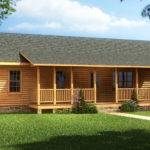 Bedroom Log Cabin Mobile Homes Ideas