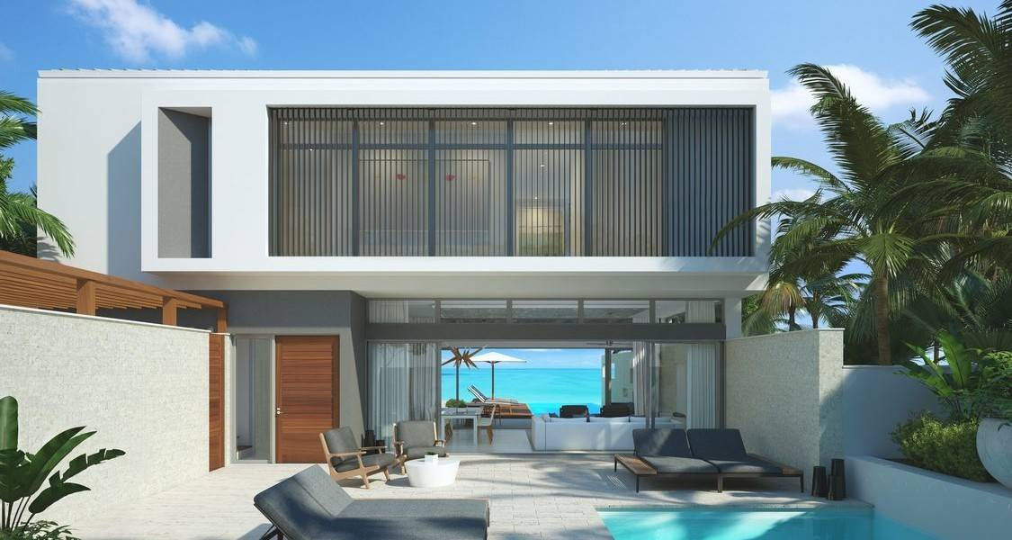 Bedroom Luxury Oceanfront Homes Sale Turtle Tail