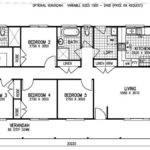 Bedroom Mobile Home Floor Plans Karingal Mkii