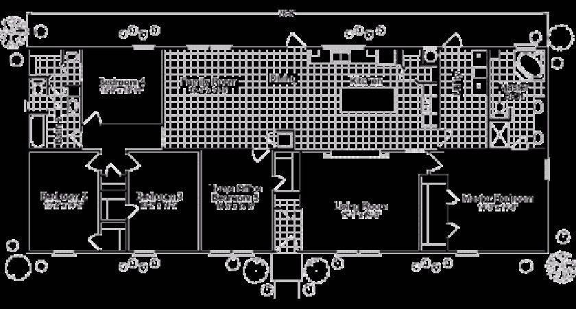 Bedroom Mobile Home Floor Plans New