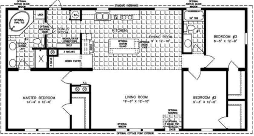 Bedroom Mobile Homes Sale Modular Home