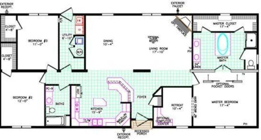 Bedroom Modular Home Floor Plans Inspirational