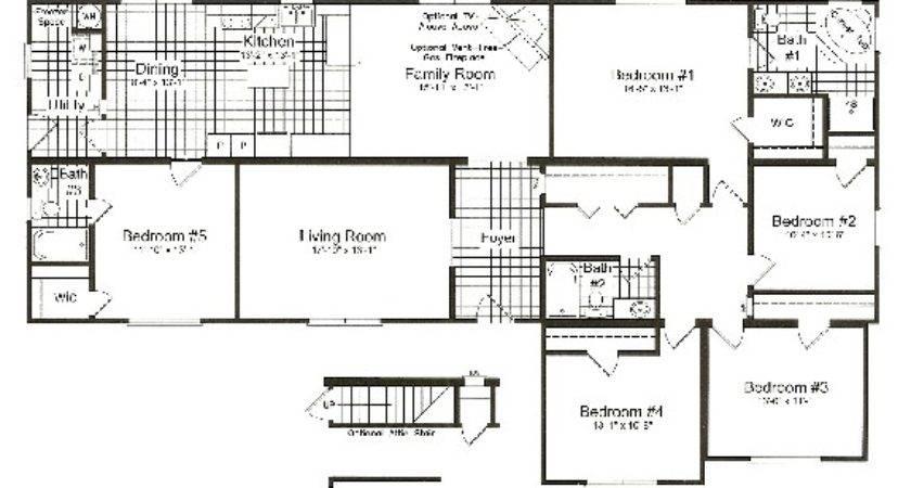 Bedroom Prefabricated Homes Floor Plans