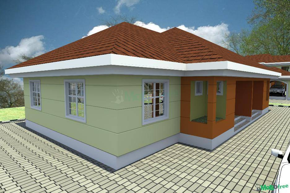 Bedroom Semi Detached Bungalow Houses Sale Lagos