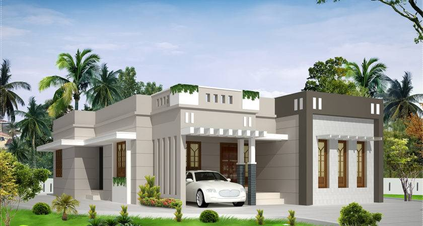 Bedroom Single Storey Budget House Kerala Home Design Floor
