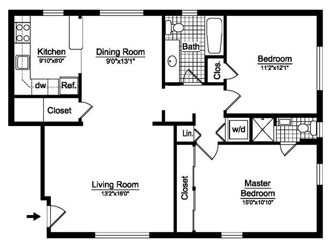 Bedroom Single Wide Mobile Home Floor Plans Also Double