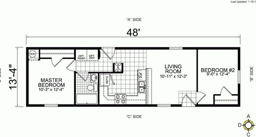 Bedroom Single Wide Mobile Home Floor Plans Beautiful