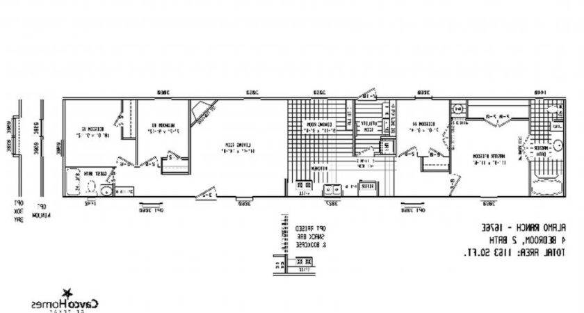 Bedroom Single Wide Mobile Home Floor Plansmobile