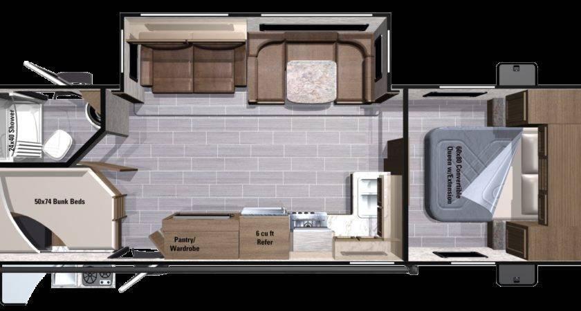 Bedroom Travel Trailer Floor Plan