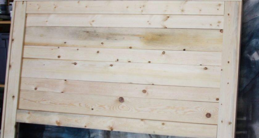 Beingbrook Rustic Headboard Aged Wood