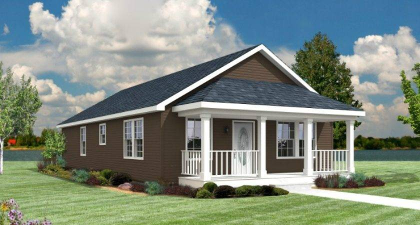 Belcourt Modular Home Floor Plan