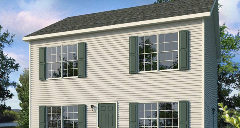 Belmont Two Story Style Modular Homes