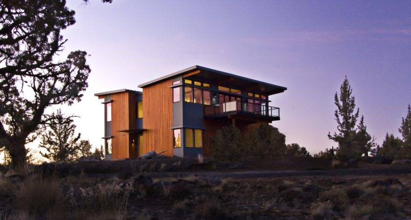 Bend Oregon Prefab Home Stillwater Dwellings