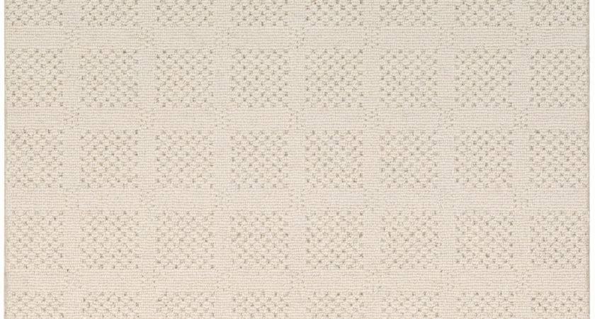 Berber Carpet Square Pattern Patterned