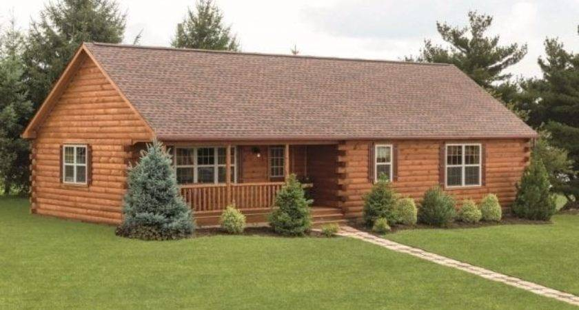 Best Log Cabin Style Mobile Homes New Home Plans Design