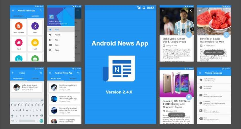 Best Mobile App Templates Android Ios
