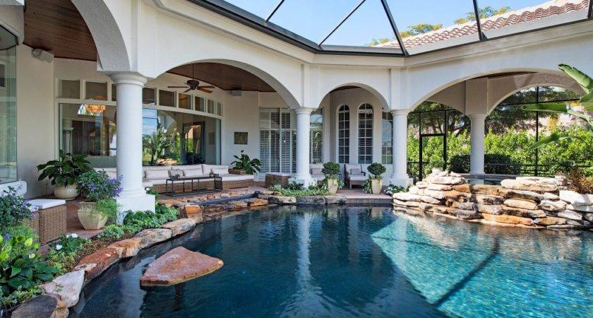 Best Pool Homes Naples Florida Real