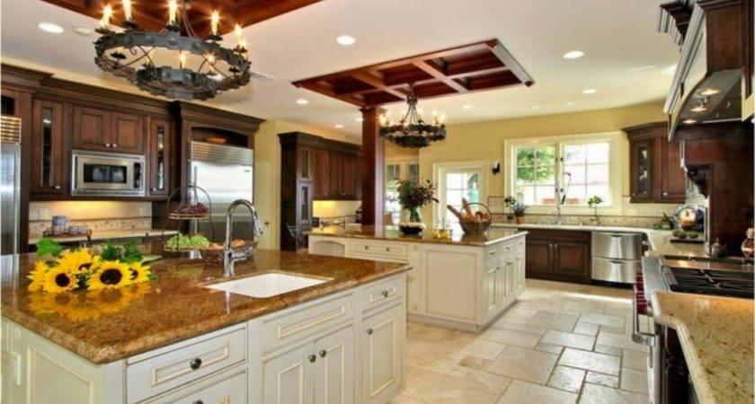 Big Kitchen Design Home Decorating Ideas