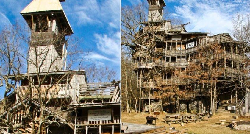 Biggest Treehouse World Tennessee Photos Craziest