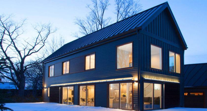 Blu Homes Zero Energy Prefab Farmhouse House