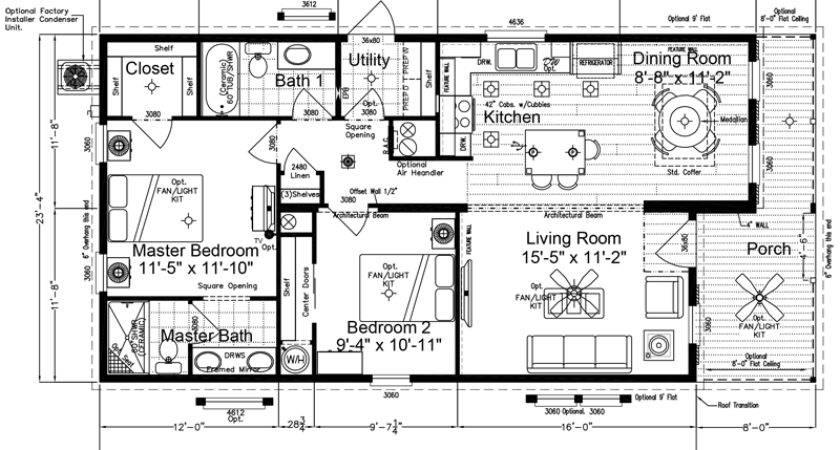 Bonita Floor Plan Mobile Homes Florida Gerogia