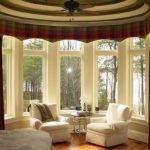 Bow Window Treatments Ideas Design
