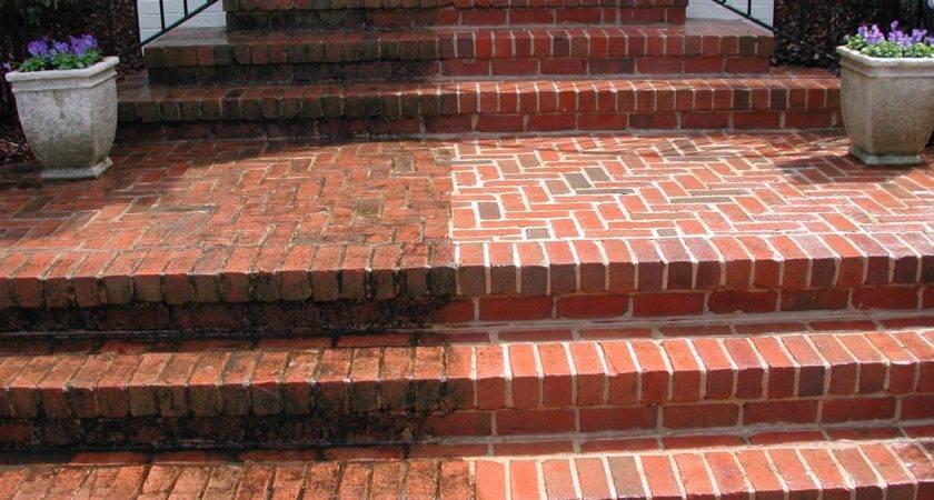 Brick Porch Washing Texas