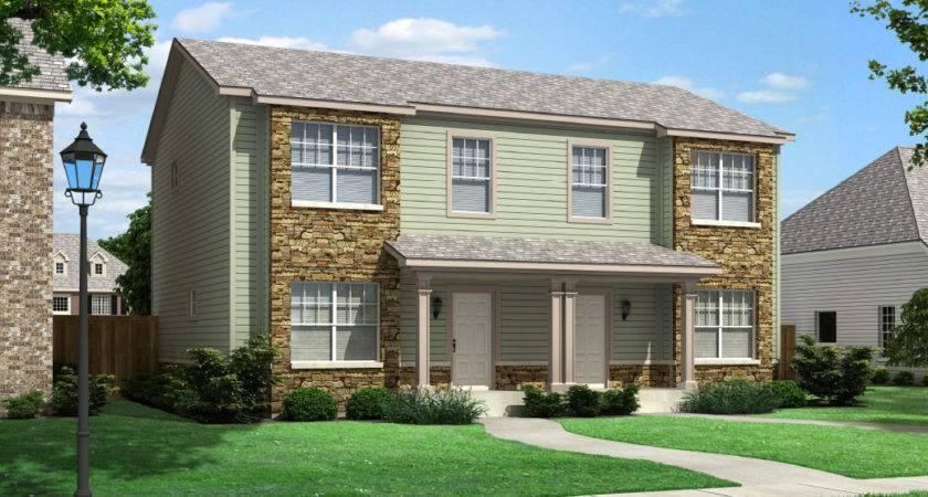 Bridgeport Duplex Townhouse Style Modular Homes