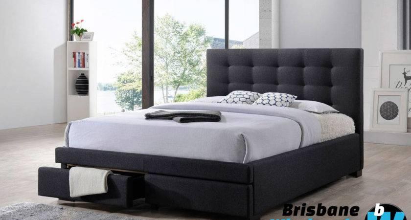 Bronte King Queen Bed Brisbane Wholesale Furniture