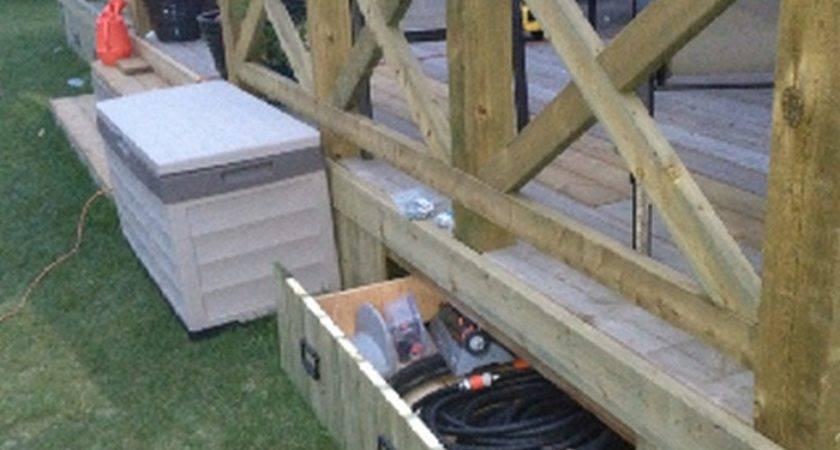 Build Beautiful Garden Hose Storage Planter Diy