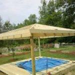 Build Diy Gazebo Ready Put Roof Deck