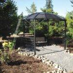 Build Gazebo Out Recycled Satellite Dish Diy Mother Earth