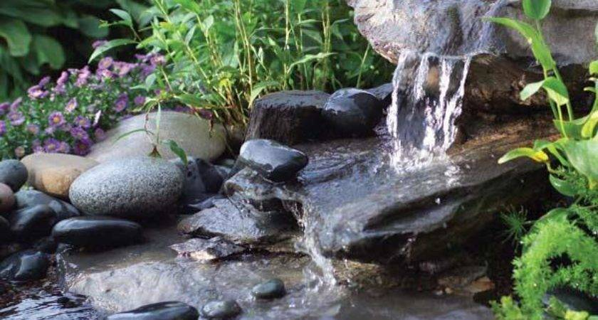 Build Low Maintenance Water Feature