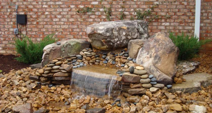 Build Pondless Waterfall Backyard Blessings
