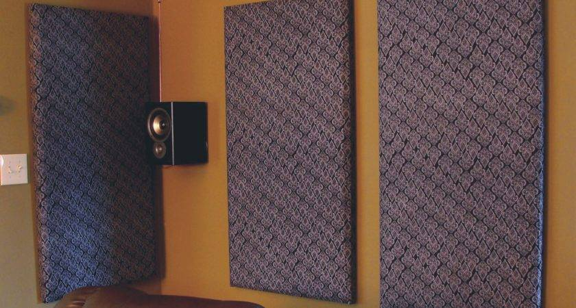 Build Your Own Sound Absorbing Wall Panels