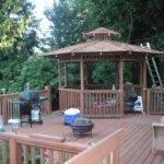 Building Gazebo Deck