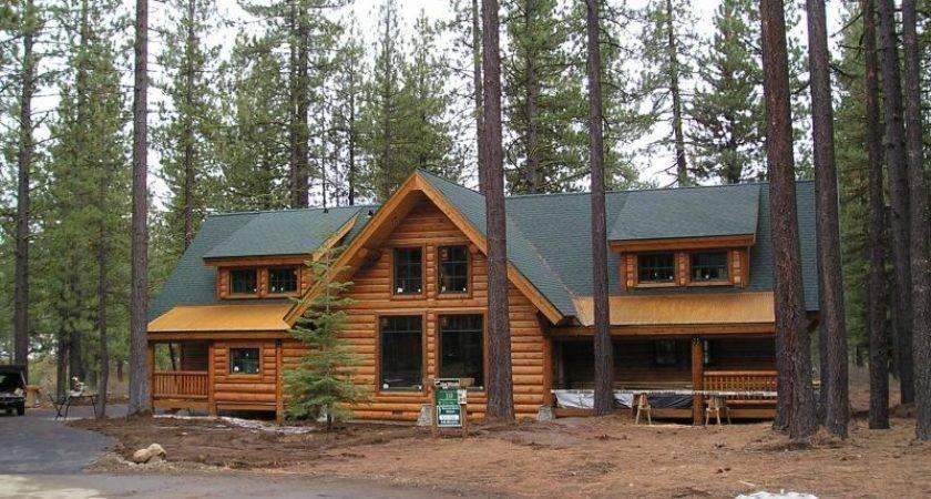 Built Homes Custom Developments Green Log