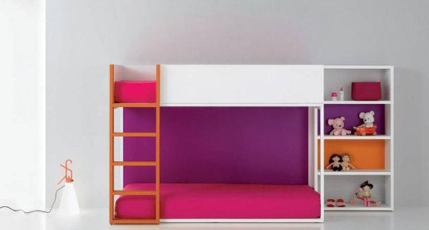 Bunk Bed Girls Interior Design Designs