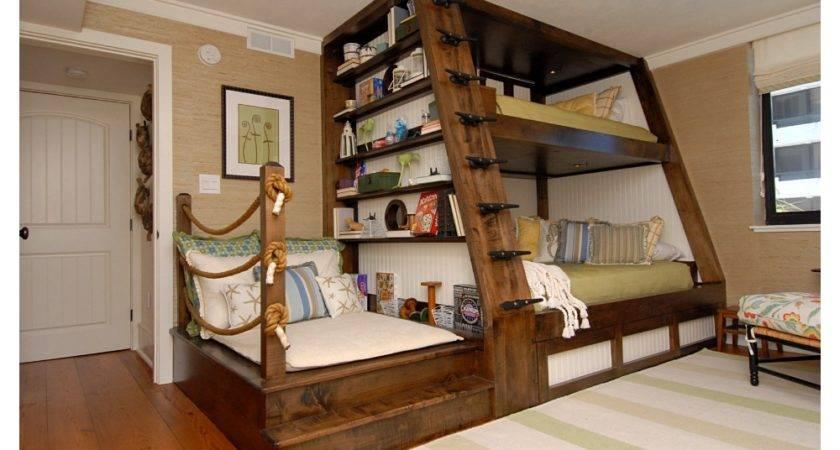 Bunk Bed Kids Room Del Mar Homeworlddesign