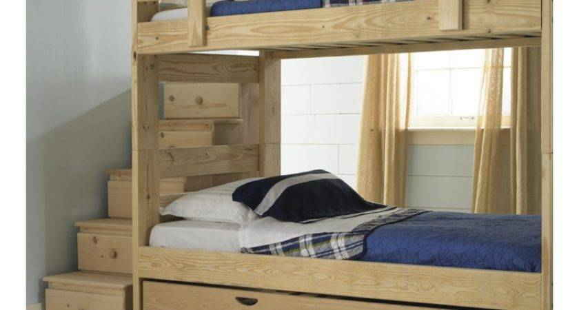 Bunk Bed Plans Stairs Beds Unique