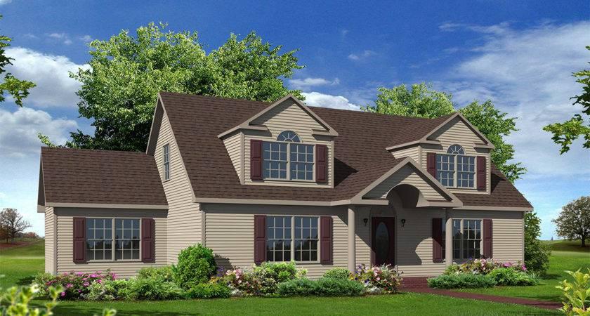Cameron Cape Style Modular Homes