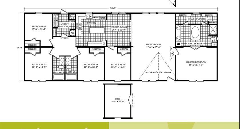 Cavco Homes Floor Plan Bedroom Bath Double Wide