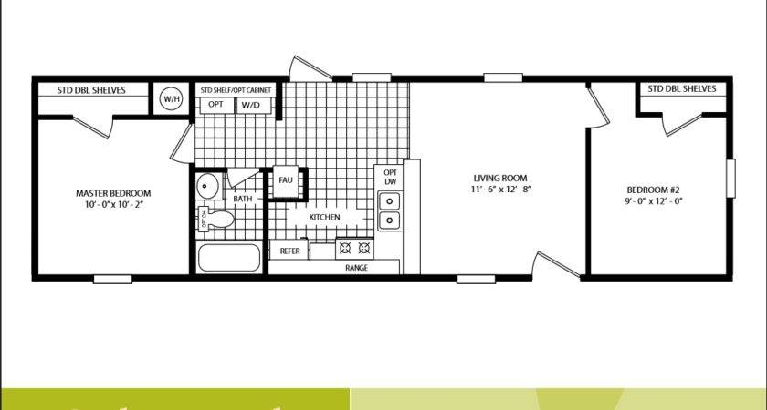Cavco Homes Floor Plan Bedroom Bath Single Wide