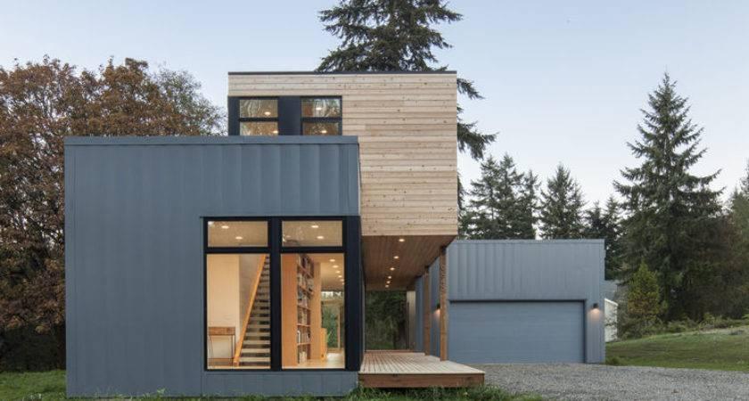 Cedar Clad Prefab House Method Homes