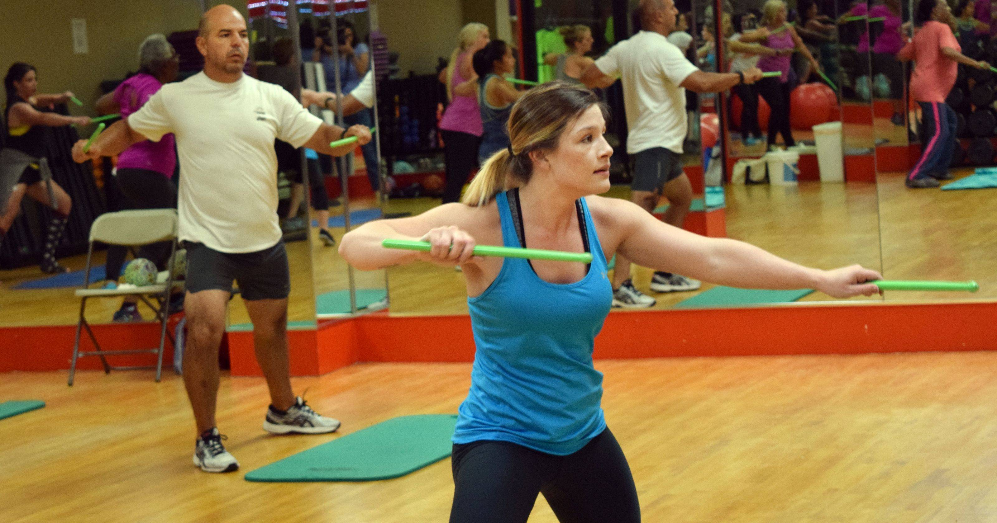 Cenla Move Pound Class Adds Beat Fitness