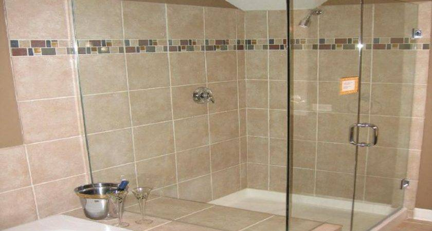 Ceramic Tile Designs Showers Small Bathroom