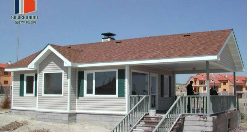 Certificated Steel Fabricated House