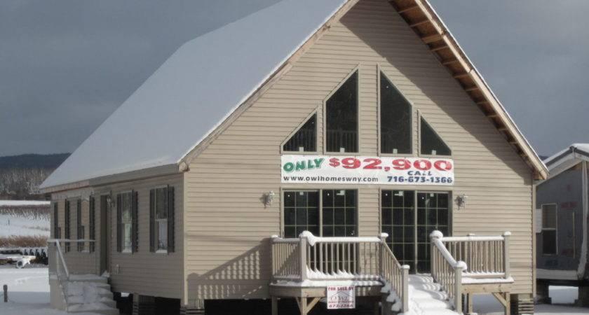Chalet Modular Owl Homes Western New York Manufactured